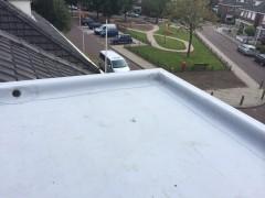 Dakkapel voorzien van kunststof dakbedekking
