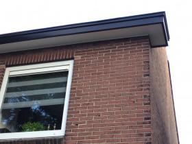 Woning in Enschede voorzien van nieuwe boeibeplating